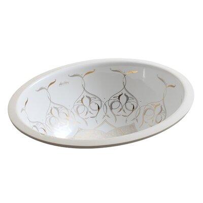 Kohler Caravan Collection Persia On Caxton Undermount Bathroom Sink ...