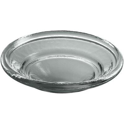 Spun Glass Circular Vessel Bathroom Sink Finish: Translucent Stone