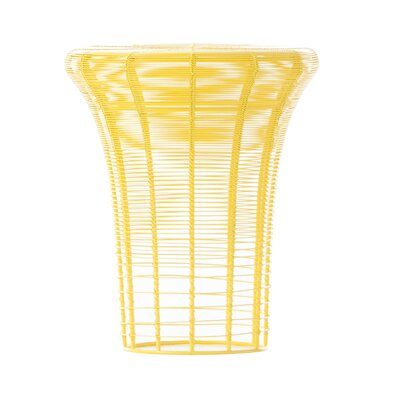 Aram High Accent Stool Color: Yellow