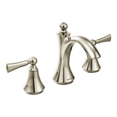 Wynford Widespread Bathroom Faucet Finish: Polished nickel