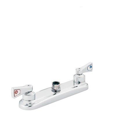Moen M-Dura Double Handle Widespread Kitchen Faucet without Spout