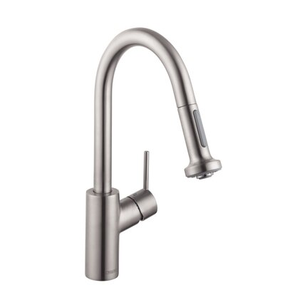Hansgrohe Talis S 2 Prep One Handle Deck Mounted Kitchen Faucet with 2 Spray Pull Down