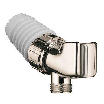 Showerpower Shower Arm Mount Holder Finish: Polished Nickel