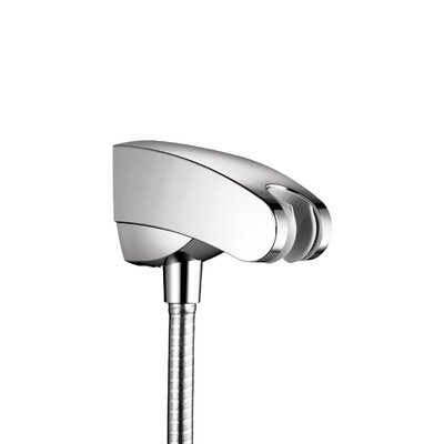 Showerpower Porter E Holder with Outlet Finish: Satinox