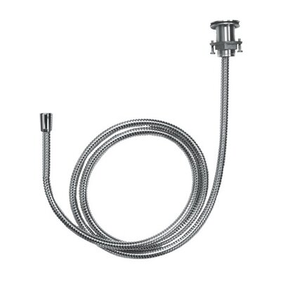 Metal Hose Pull-Out Set with Holder and Elbow Finish: Chrome