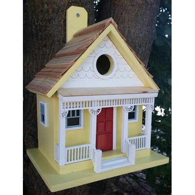 Capitola Cottage 9 in x 6 in x 8 in Birdhouse