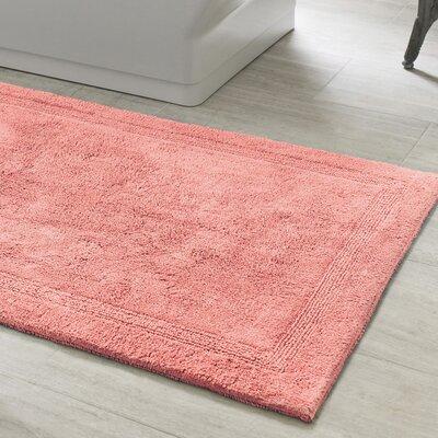 "Signature Bath Rug Size: 22"" x 44"", Color: Pink"