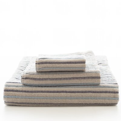 East Hampton 100% Cotton Hand Towel Color: Blue
