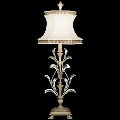 """Fine Art Lamps Beveled Arcs 41"""" H Table Lamp with Bell Shade"""