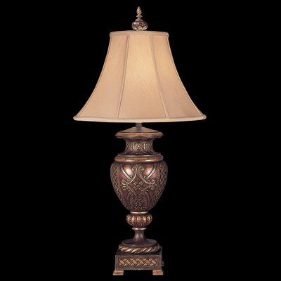 """Fine Art Lamps Villa 1919 33"""" H Table Lamp with Bell Shade"""