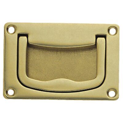 Recess Recessed Pull Finish: Polished Brass