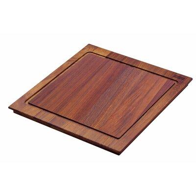 Peak Iroko Wood Cutting Board