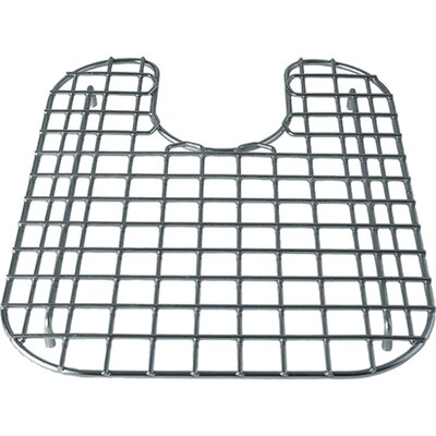 "13"" x 20"" Sink Grid Color: Stainless Steel"