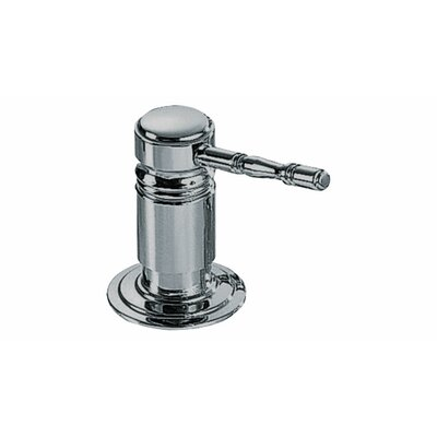 Royal Lotion Dispenser Color: Polished Nickel