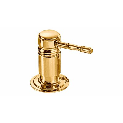 Royal Lotion Dispenser Color: Brass