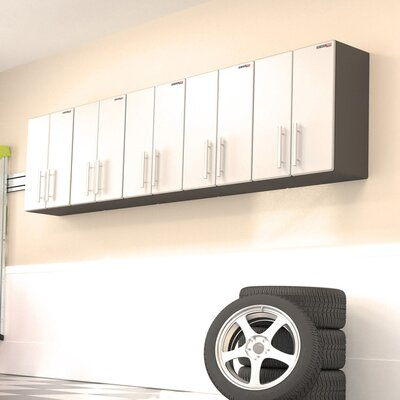 """Ulti-MATE Ulti-MATE Garage PRO 30.7"""" H x 118"""" W x 14"""" D 5-Piece Wall Cabinet Complete Storage System"""