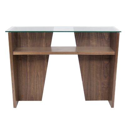 Oliva Console Table Color: Walnut