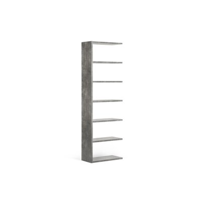 "Pombal 88"" H Shelving Unit Add-on Size: 88"" H x 28"" W x 13"" D, Finish: Concrete"