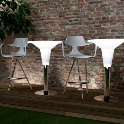 Green Ambra High Lux Bar Table