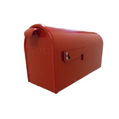 Newport Post Mounted Mailbox Finish: Red