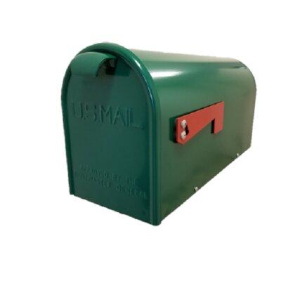 Newport Post Mounted Mailbox Finish: Green