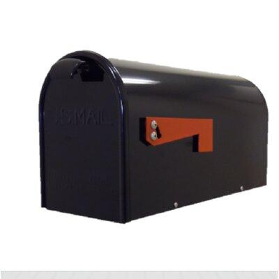 Newport Post Mounted Mailbox Finish: Black