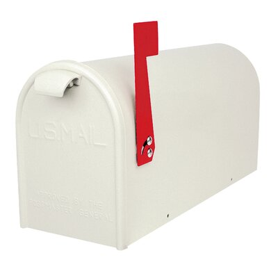 Newport Post Mounted Mailbox Finish: White