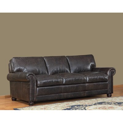 Jakey Leather Sofa