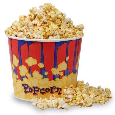 Movie Theater Popcorn Bucket Quantity: 25 Buckets, Size: 85 oz