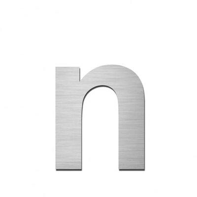 """Serafini Hausnummer selbstklebend """"n"""" aus Edelstahl V4A"""