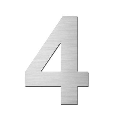 Serafini Einschlagbare Hausnummer 4