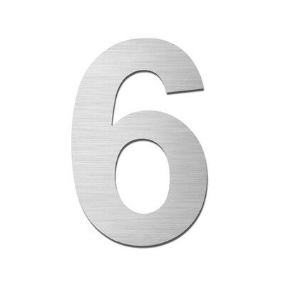 Serafini Einschlagbare Hausnummer 6
