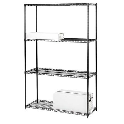 "Industrial Adjustable Wire 72"" H 3 Shelf Shelving Unit"