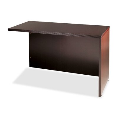 Lorell 88000 Fluted Edge Veneer Furniture Finish: Mahogany