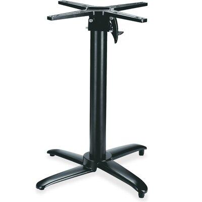 Foldable Round Hospitality Table Base Color: Black