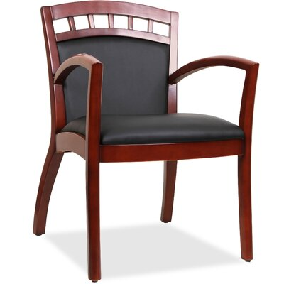 Crowning Accent Guest Chair Finish: Black Walnut