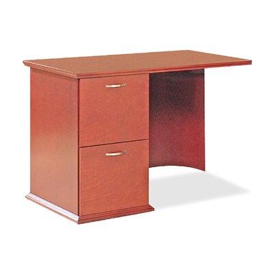 "Lorell 9000 Series 29"" H x 42"" W Right Desk Return Finish: Cherry"
