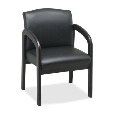 Lorell Lorell Deluxe Leather Guest Chairs