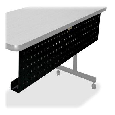 """Training Modesty 10"""" H x 42"""" W Desk Privacy Panel Size: 66"""" W"""