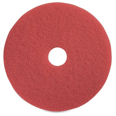 """Buffing Floor Pad Size: 15"""" H x 15"""" W x 5.5"""" D"""