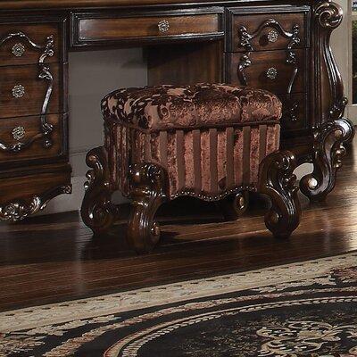 Welton Vanity Stool Color: Cherry Oak