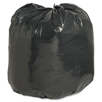 Nature Saver 31-33 Gallon Recycled Trash Bag, 1.35mil, 100 per Box