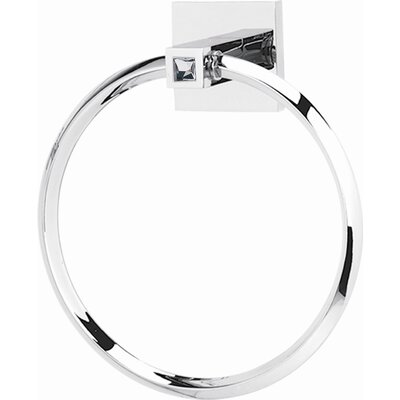 Alno Inc Swarovski Crystal Wall Mounted Towel Ring