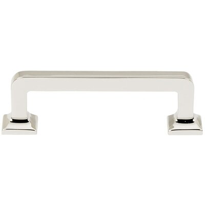 "Millennium 3"" Center Bar Pull Finish: Polished Nickel"