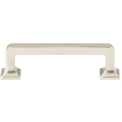 "Millennium 3"" Center Bar Pull Finish: Satin Nickel"