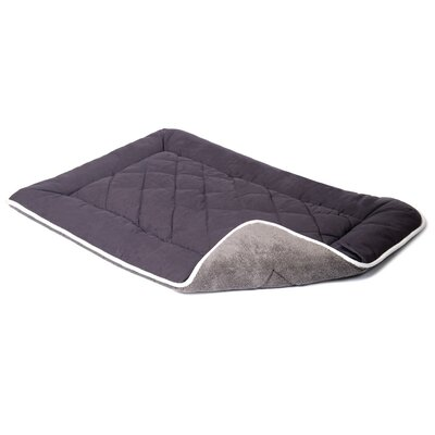 "Anastasia Sleeper Dog Mat Color: Pebble Gray, Size: Small (24"" W x 19"" D)"