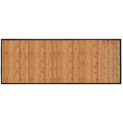Bamboo Runner Bath Rug Color: Dark Brown