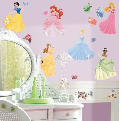 Room Mates 37 Piece Disney Princess Wall Decal Set