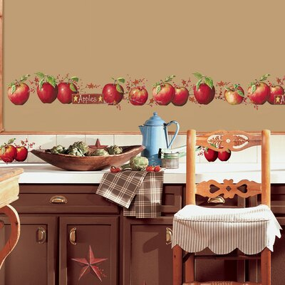 Room Mates Room Mates Deco 40 Piece Country Apples Wall Decal