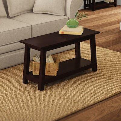 Craftsman Wood Bench Color: Espresso